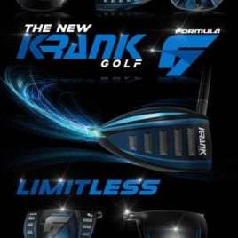 Krank Golf Formula 7 Shaved Driver (Pre Order: Drivers Will Be In Stock 6/14/17)