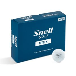 Snell MTB-X Golf Balls (Dozen) GET MAXIMUM DISTANCE FROM YOUR SHAVED DRIVER!